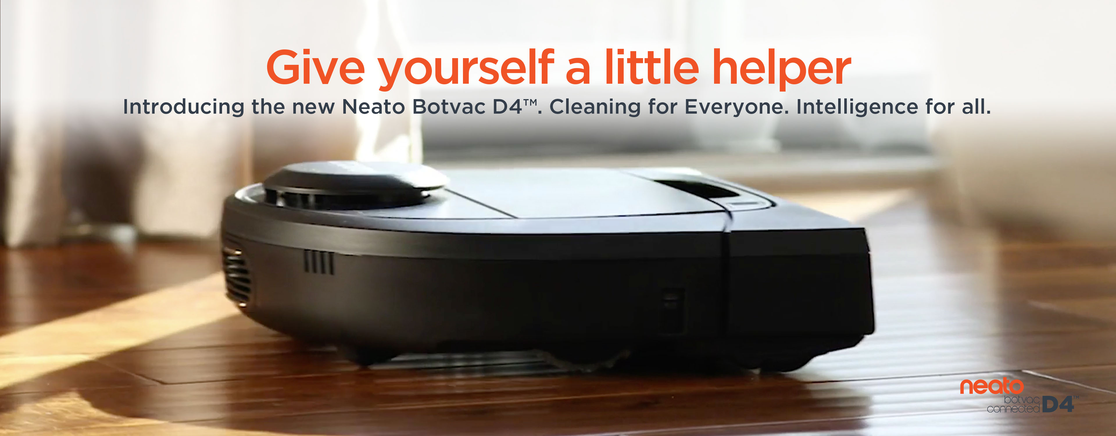 Introducing Neato Botvac D4 Connected