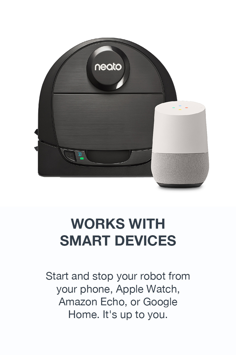 Works with <br/>Smart Devices