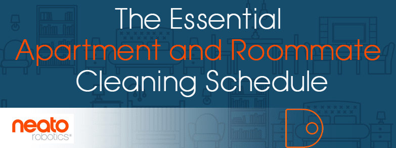 The Essential Apartment and Roommate Cleaning Schedule