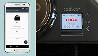 Connecting the Neato Botvac Connected to the Neato App
