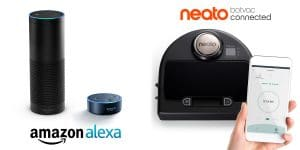 Neato Robot Vacuums can be powered by smartphones, smart watches, and Amazon Alexa